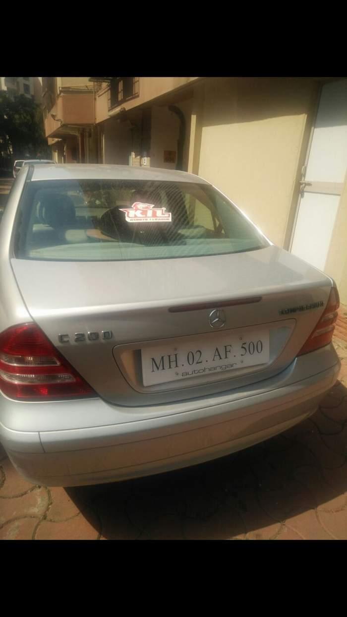 0667a364add0bb Used Mercedes Benz C Class 200 Kompressor in Mumbai 2006 model ...