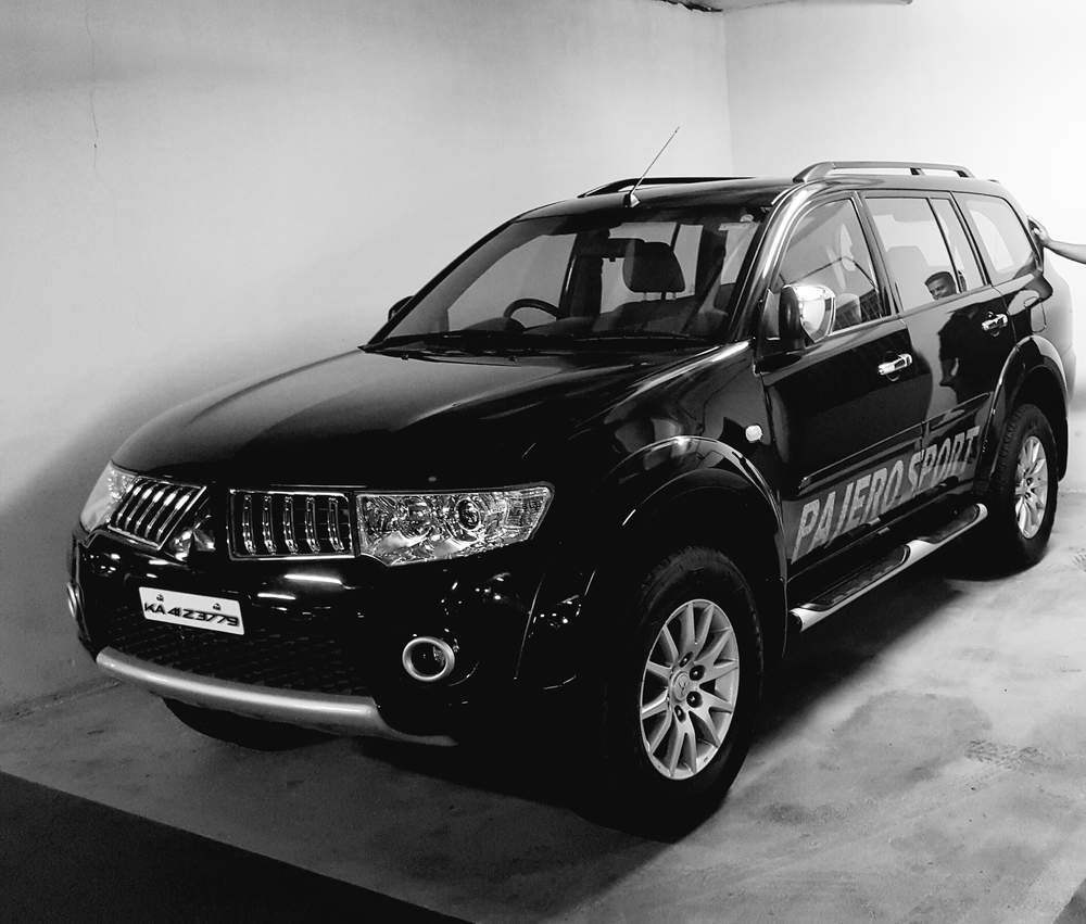 Used Mitsubishi Pajero Sport Manual In Bangalore 2014