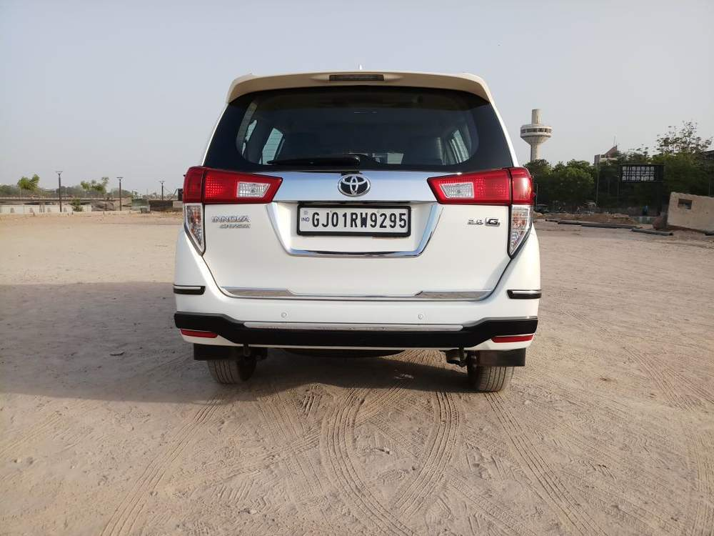 Instant Auto Insurance No Down Payment >> Used Toyota Innova Crysta 2.8 GX AT 7-Seater in Ahmedabad 2016 model, India at Best Price, ID 28607