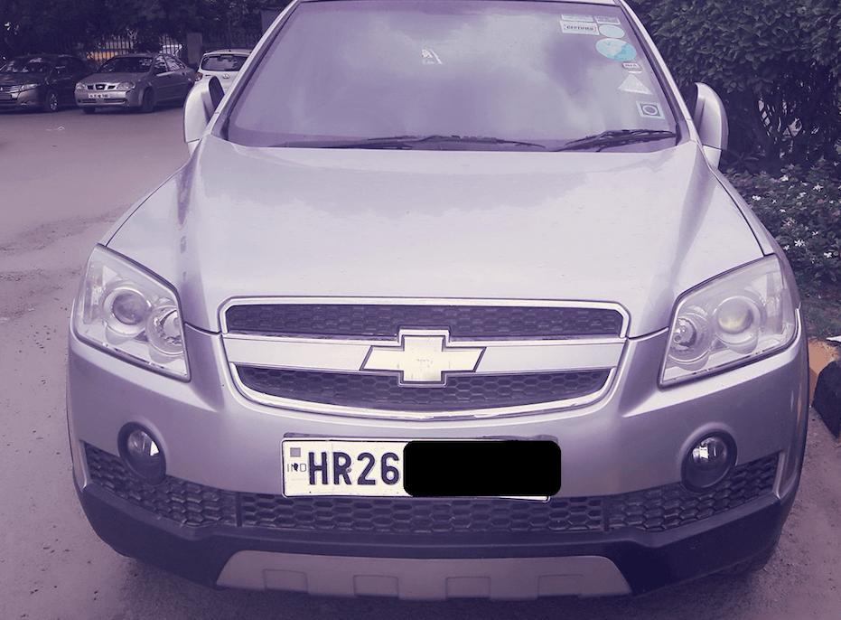 Used Chevrolet Captiva Lt In Gurgaon 2009 Model India At Best