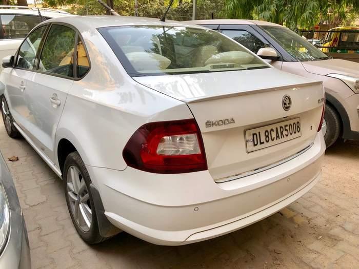 Used Skoda Rapid 1 6 Mpi Style Petrol In New Delhi 2017 Model India