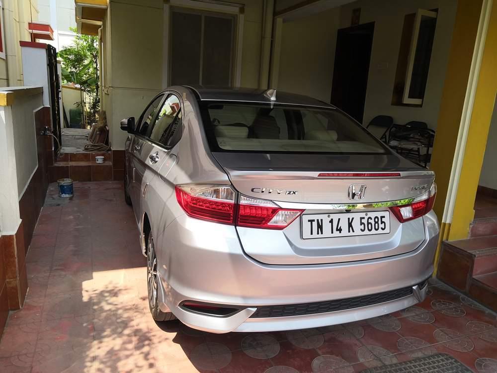 Used Honda City Zx Cvt Petrol In Chennai 2017 Model India At Best