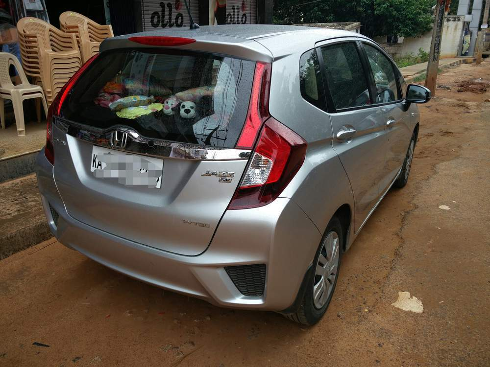 Used Honda Jazz Sv Mt Petrol In Bangalore 2015 Model India At