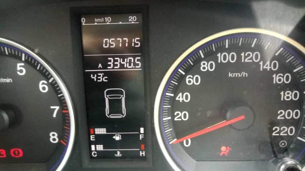 Honda Cr V Left Side View