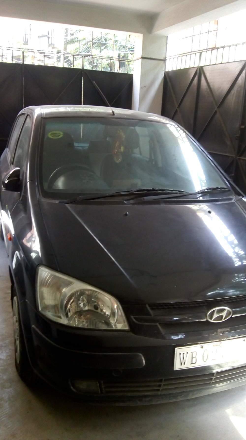 Hyundai Getz Front Left Rim