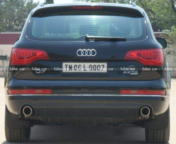 Audi Q7 42 Tdi Quattro Front Left Side Angle View