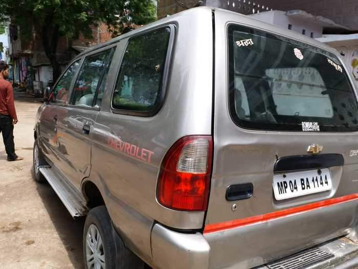 Used Chevrolet Tavera B2 10 Seater In Sagar 2007 Model India At