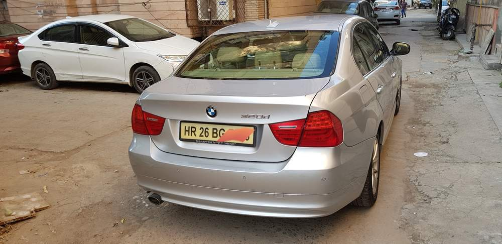 Bmw 3 Series Left Side View