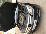 Mercedes Benz C Class Front Right Side Angle View