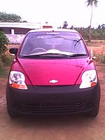 Chevrolet Spark Rear Right Side Angle View
