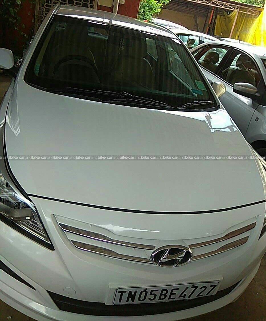 Hyundai Verna 14 Vtvt E Front View