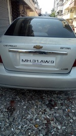 Chevrolet Optra Rear View