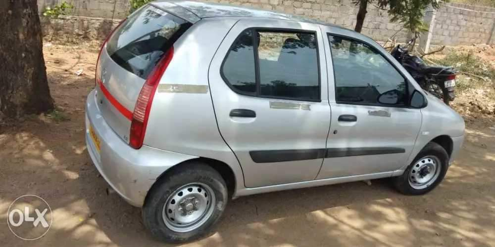 Tata Indica Ev2 Left Side View
