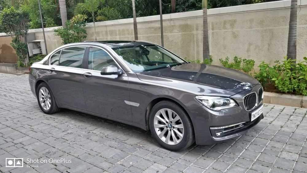 Bmw 7 Series Left Side View