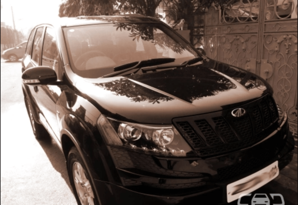 Mahindra Xuv500 Left Side View