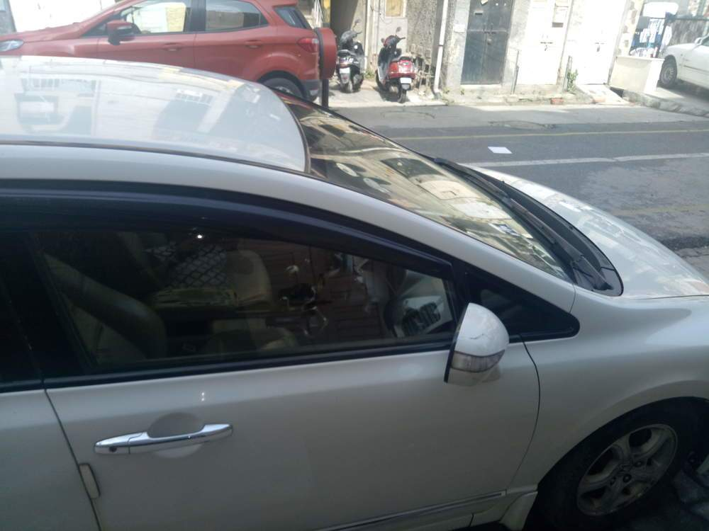 Honda Civic Rear Right Side Angle View
