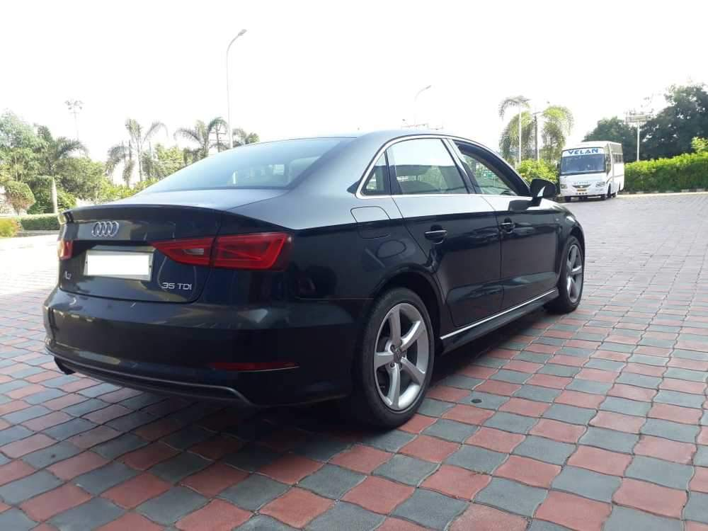 Audi A3 Left Side View