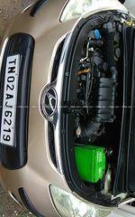 Hyundai I10 12 Sportz At Rear Left Side Angle View