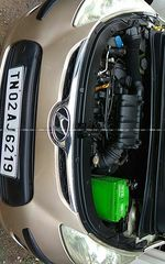 Hyundai I10 12 Sportz At Rear Left Side Angle View