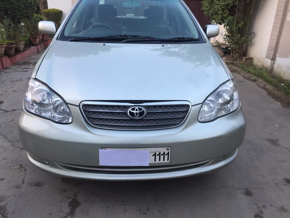 Used Toyota Corolla H2 In New Delhi 2006 Model India At