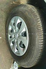 Hyundai I20 14 Sportz Petrol At Rear Right Side Angle View