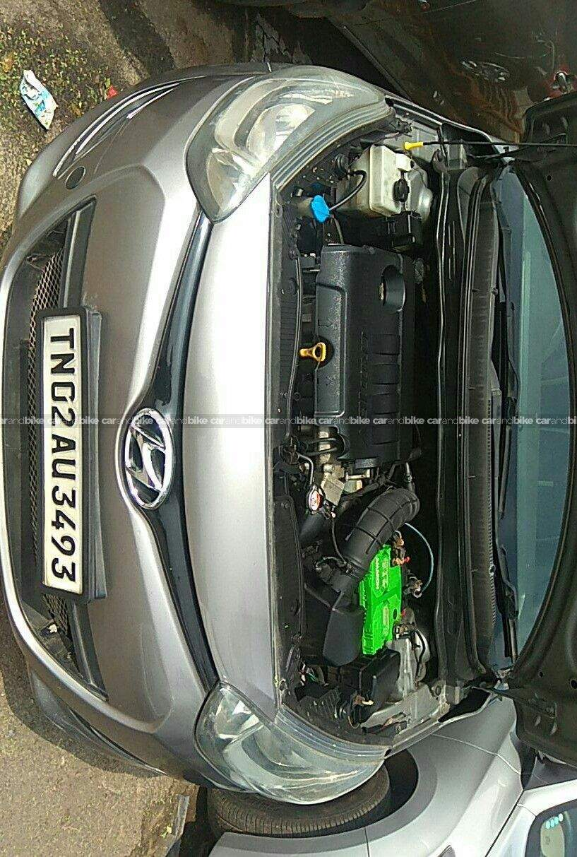 Hyundai I20 14 Magna Diesel Rear Left Side Angle View