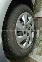 Honda Amaze E Mt Diesel Rear Right Side Angle View