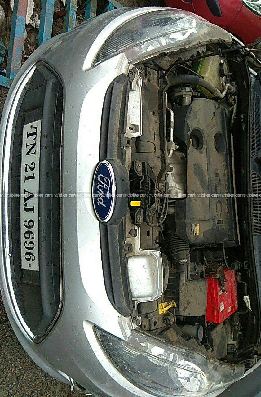 Ford Fiesta 14 Duratorq Exi Rear Left Side Angle View