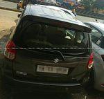 Maruti Suzuki Ertiga Zdi Plus Front Right Side Angle View