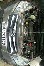 Maruti Suzuki S Cross Delta Rear Left Side Angle View