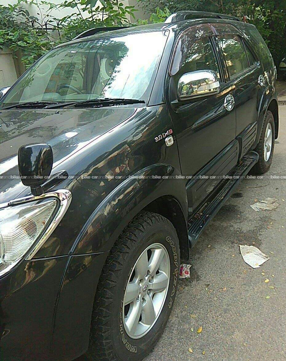 Toyota Fortuner 25 4x2 Trd Sportivo At Trunk Interior