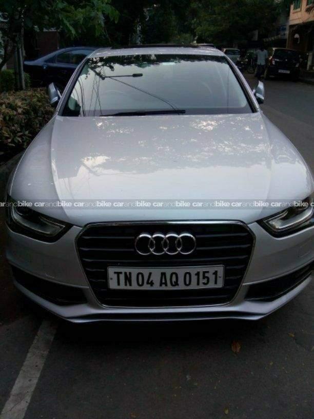 Audi A4 20 Tdi Premium Plus Front Left Side Angle View