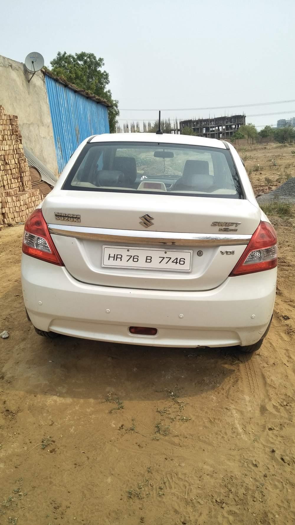 Used Maruti Suzuki Swift Dzire VDI Optional in Badshahpur 2014
