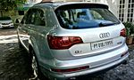 Audi Q7 Rear Left Side Angle View