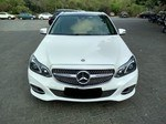Mercedes Benz E Class Front Right Side Angle View