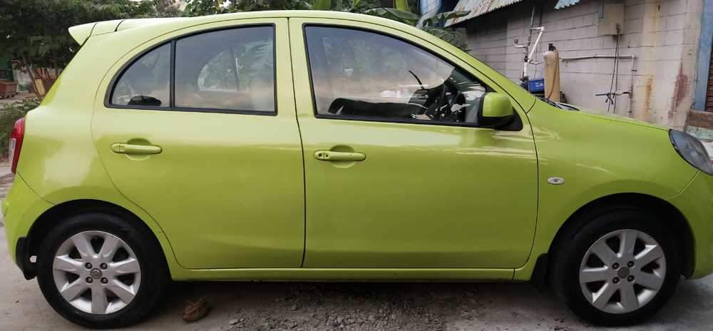 Nissan Micra Left Side View