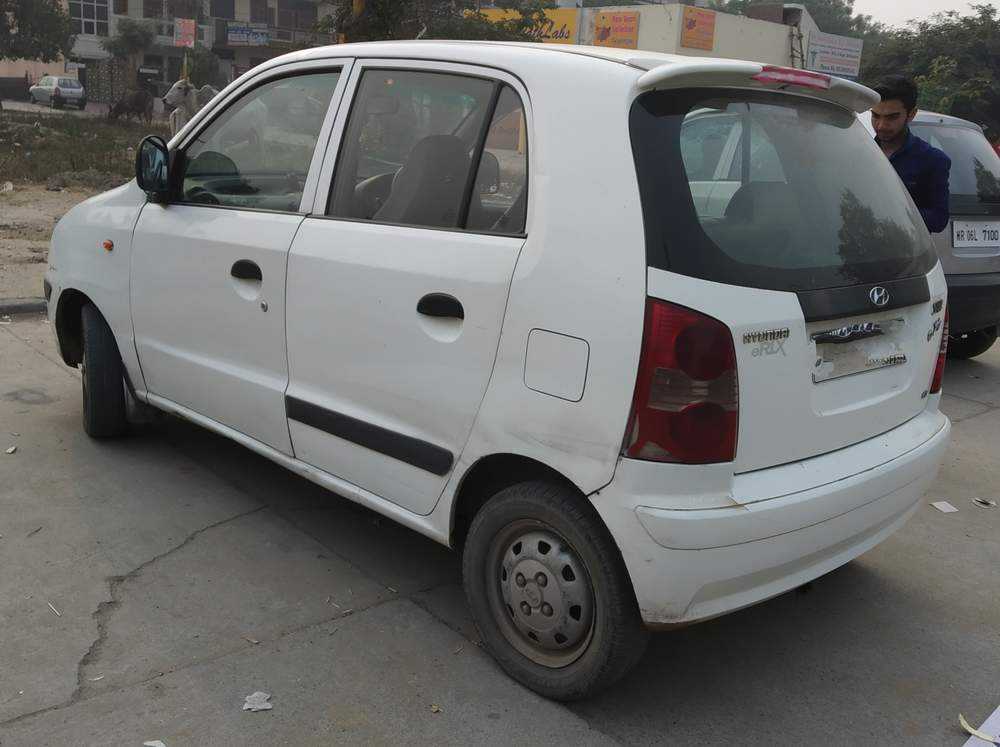 hyundai santro xing photos &