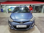 Hyundai I20 Front Right Side Angle View