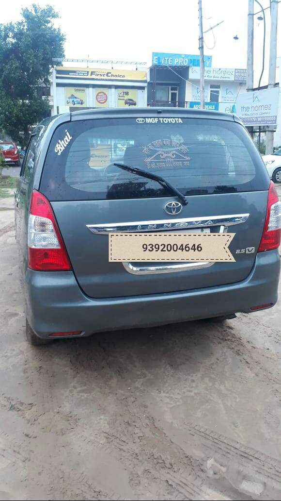 Toyota Innova Left Side View