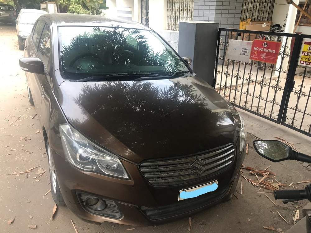 Maruti Suzuki Ciaz Left Side View