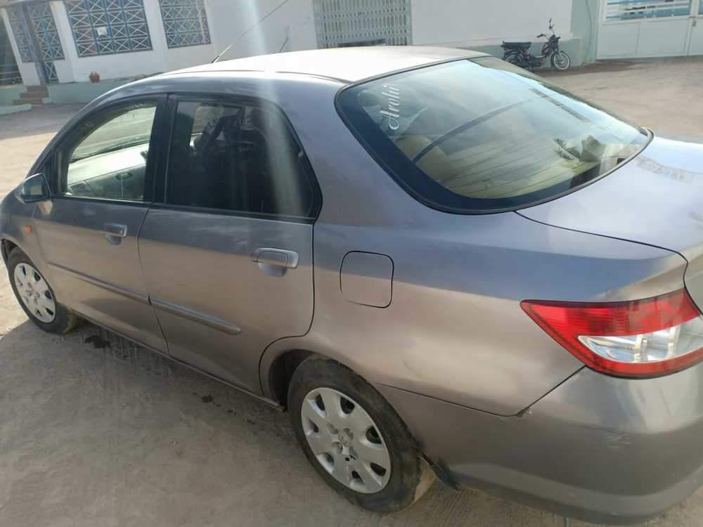 Honda City Left Side View