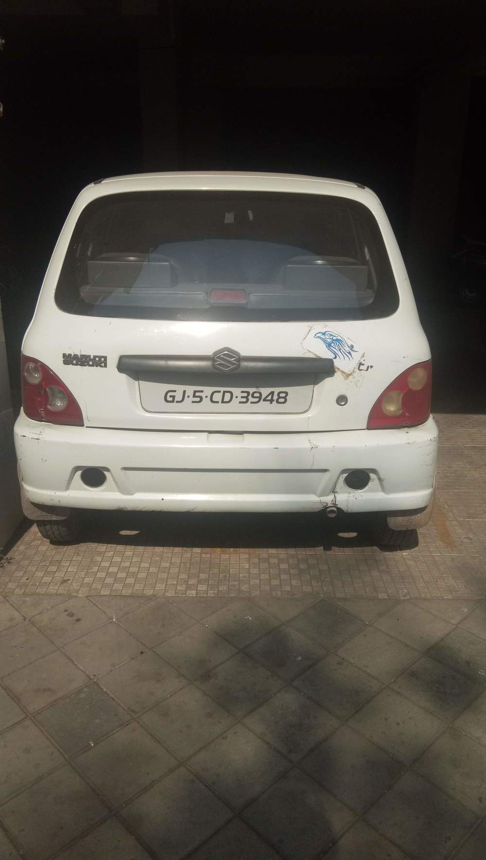 Maruti Suzuki Zen Left Side View