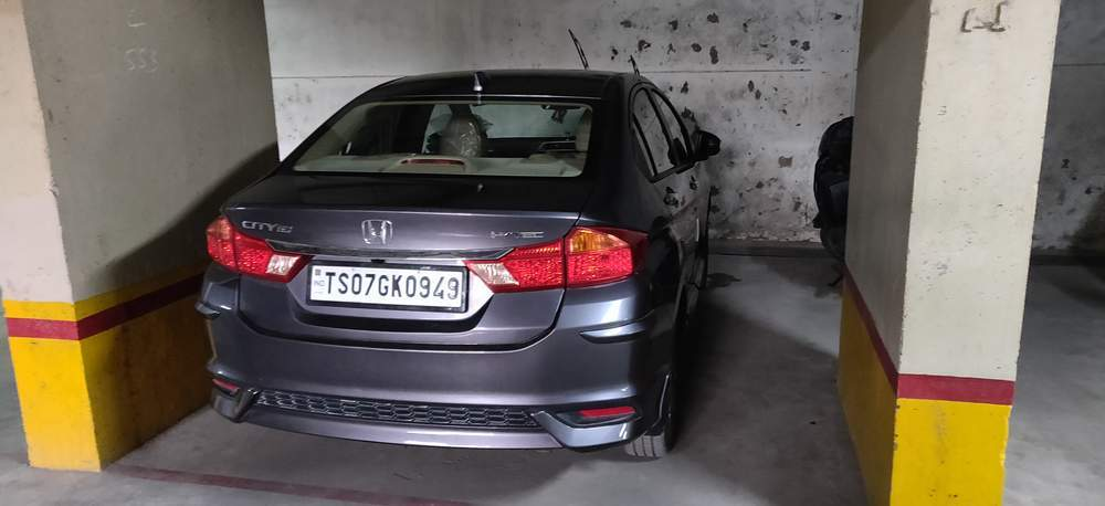 Honda City Rear Left Side Angle View