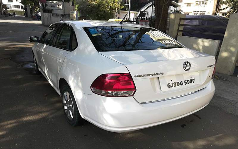 Volkswagen Vento Left Side View
