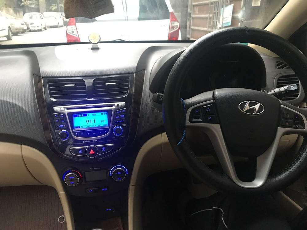 New Hyundai Verna Left Side View