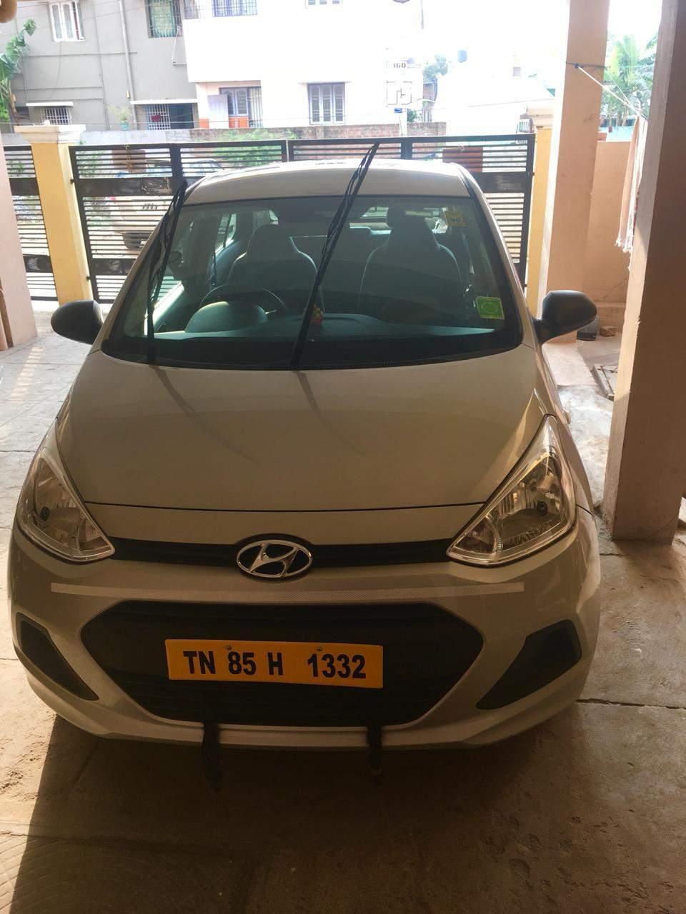 Hyundai Xcent Front Left Rim