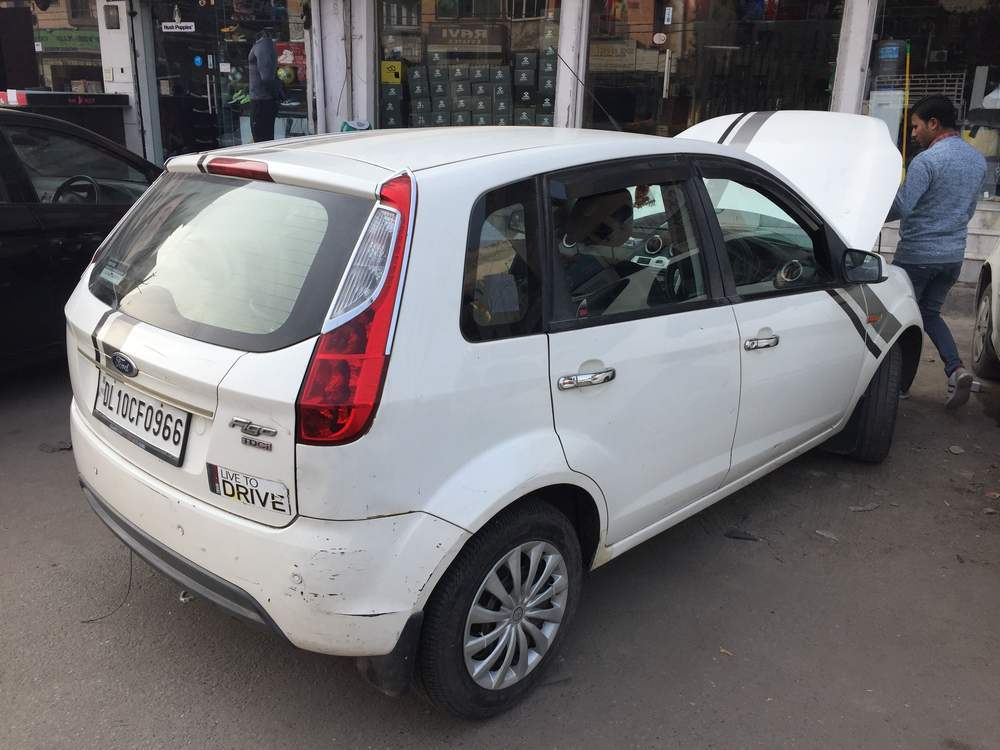 Ford Figo Left Side View
