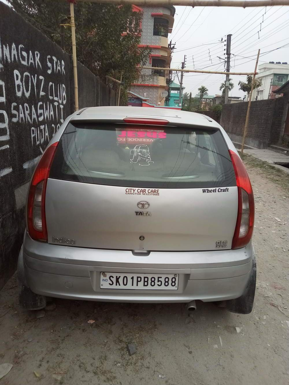 Tata Indica Left Side View