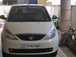 Tata Indica Vista Rear Right Side Angle View