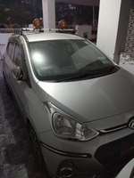 Hyundai Grand I10 Rear Left Side Angle View